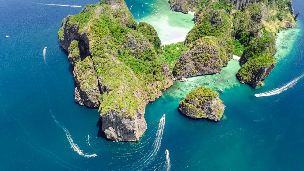 Ko Phi Phi island thailand