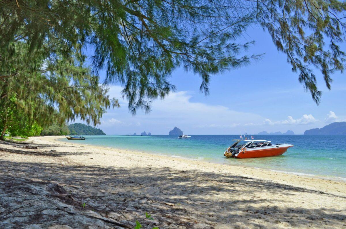 Koh Kradan one of the Trang islands in the Andaman Sea Thailand