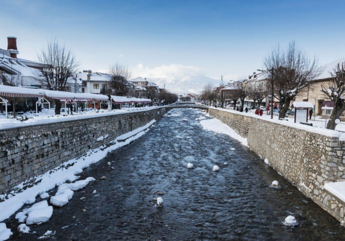 Kosovo Prizren snow