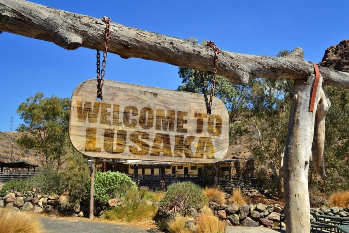 Lusaka sign