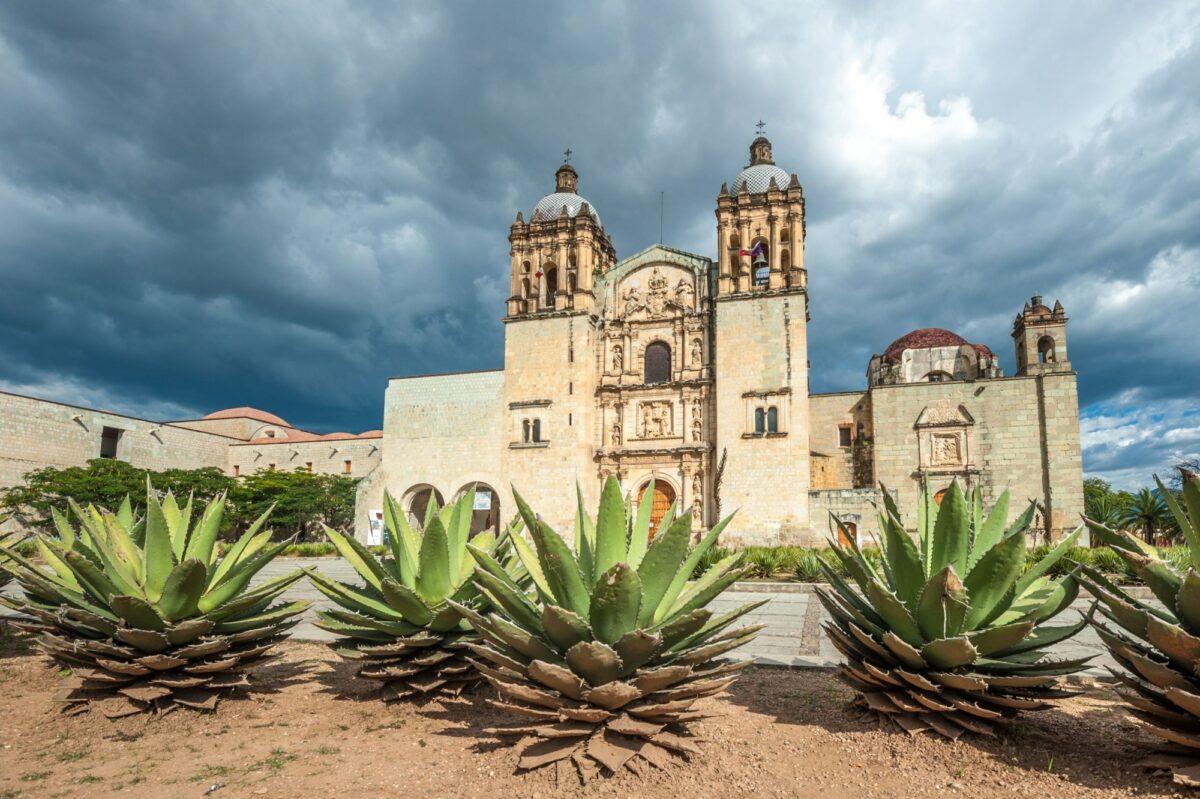 Mexico Oaxaca city Church of Santo Domingo de Guzman
