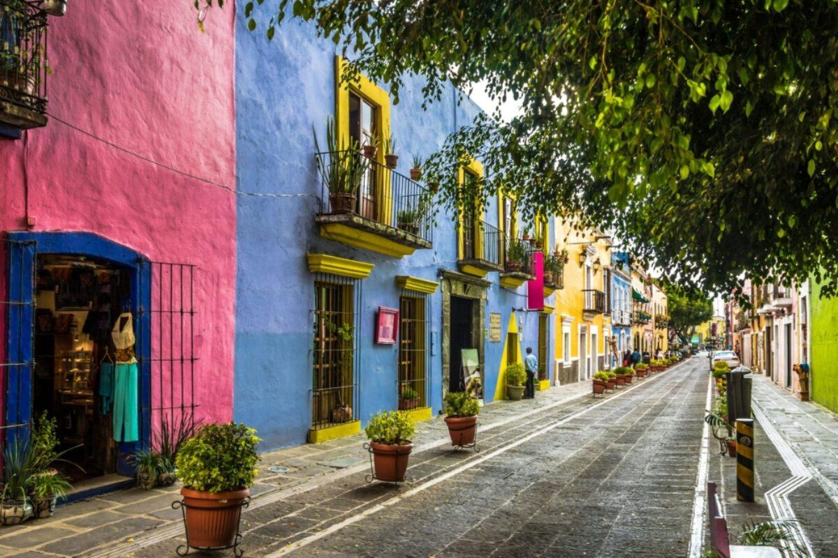 Mexico Puebla Callejon de los Sapos