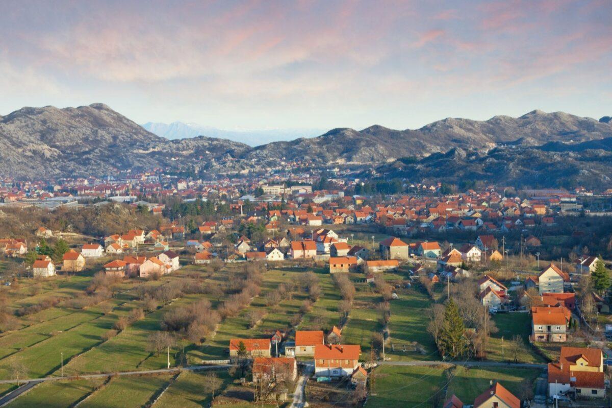 Montenegro Cetinje town view