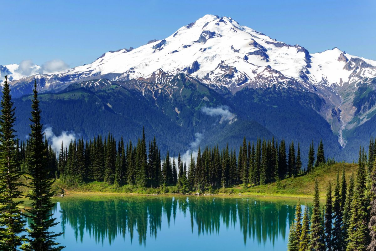 Mount Rainier national park Washington USA