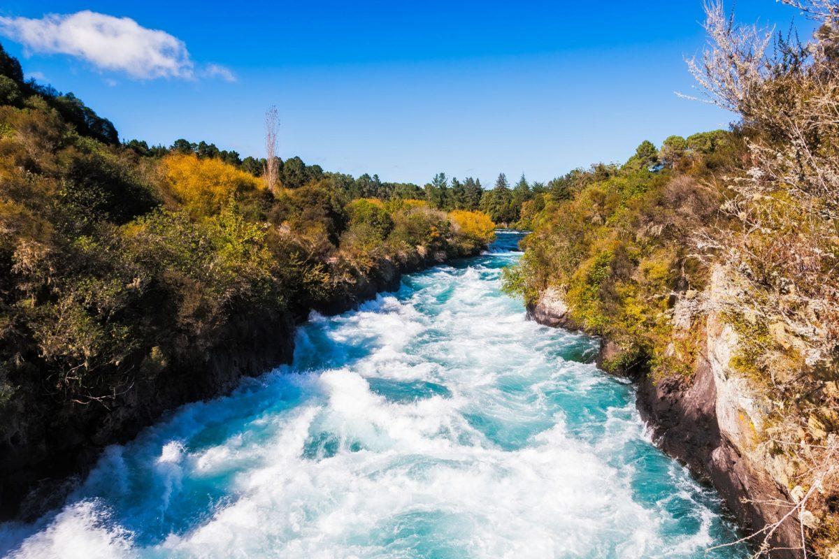 NZ Laketaupo Huka Falls