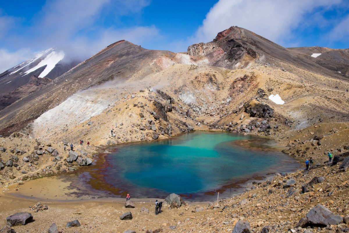NZ Tongariro mount doom near