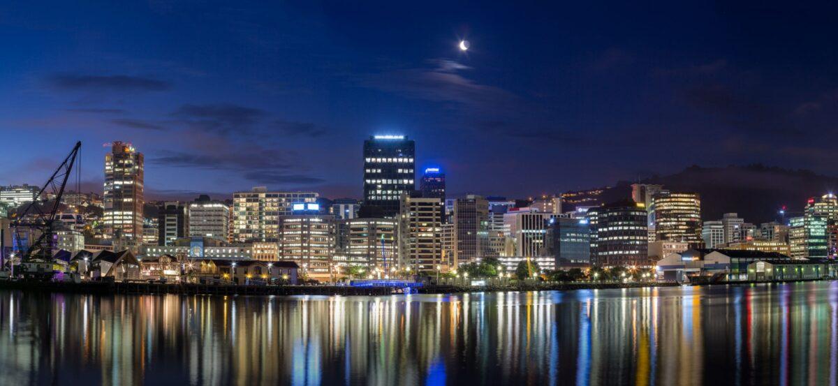 NZ Wellington skyline