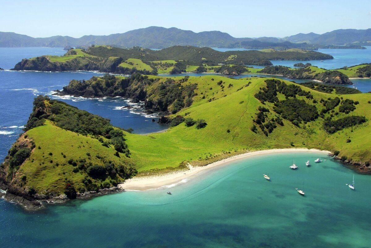 Northland bayof Islands Waewaetorea Island