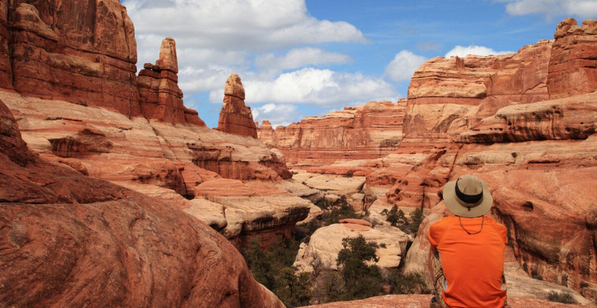 Off the beaten path USA Canyonlands