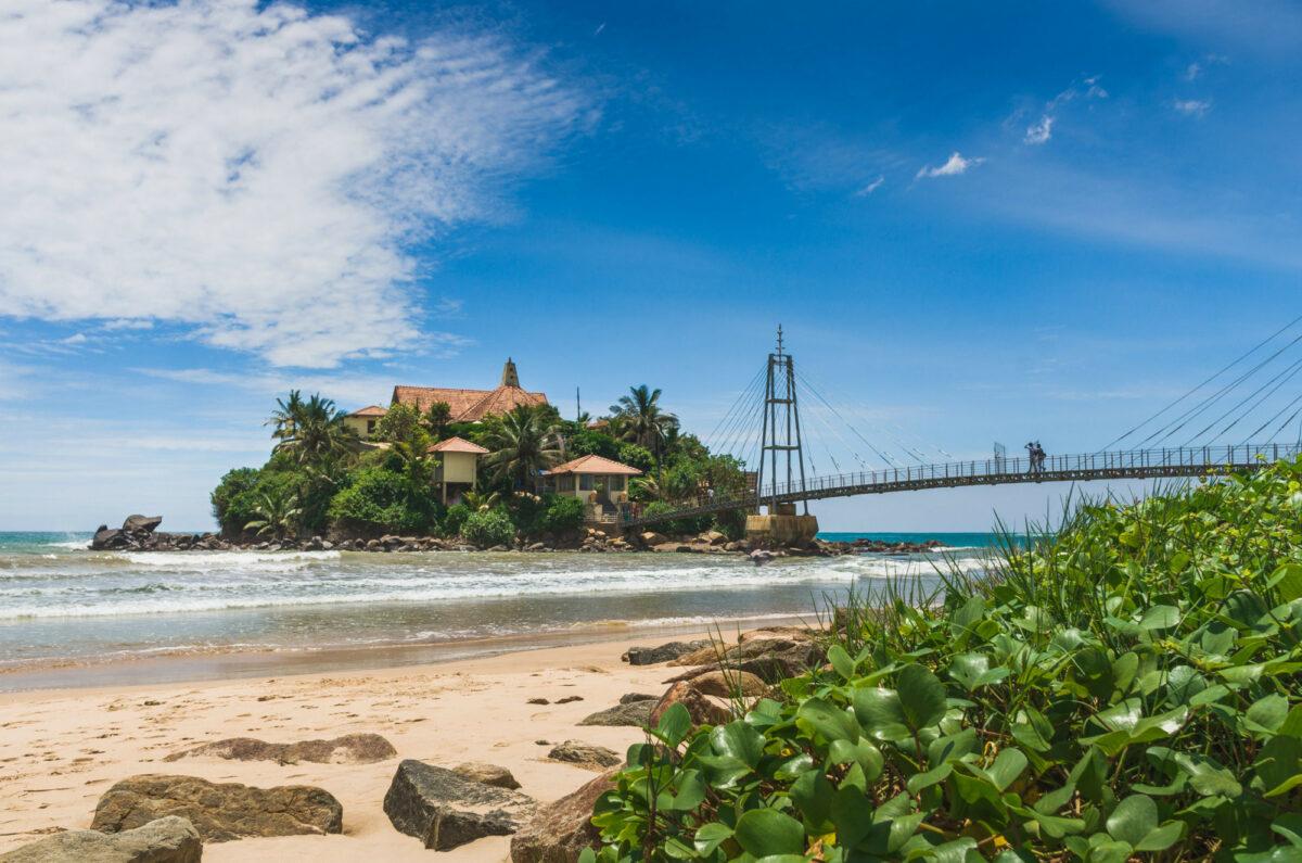 Parevi Dupatha Temple Pigeon Island Sri Lanka