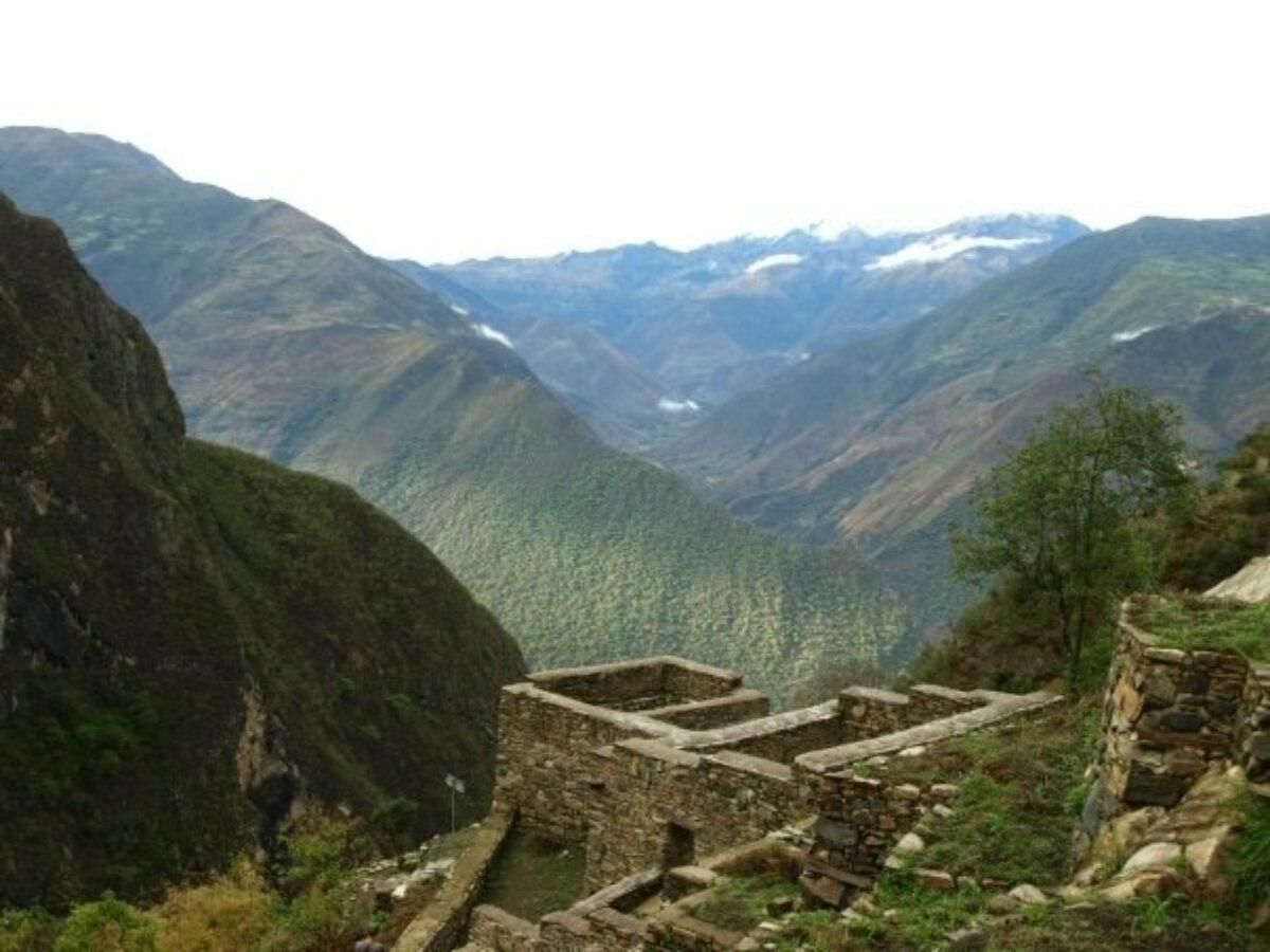 Peru Choquequirao view