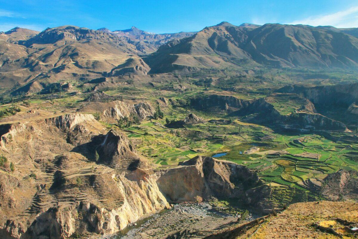 Peru Cola Canyon view