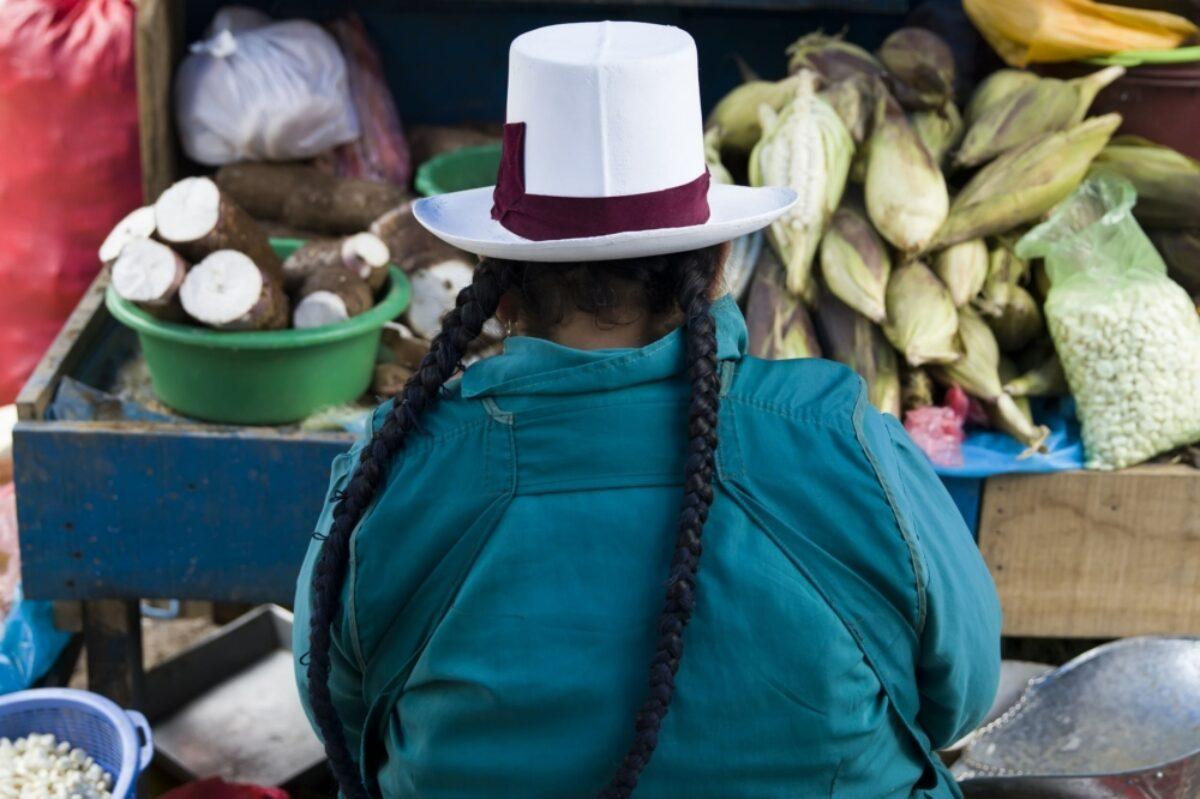 Peru Cusco market