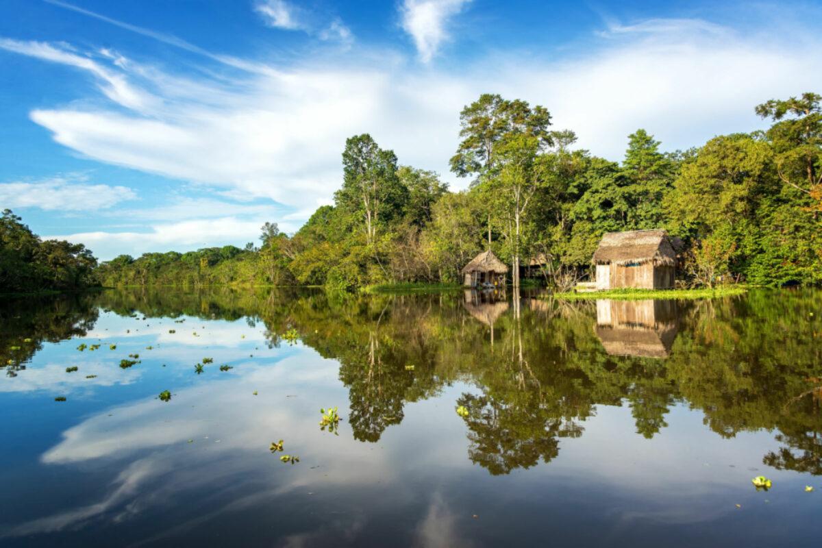Peru-Iquitos-Yanayacu-river