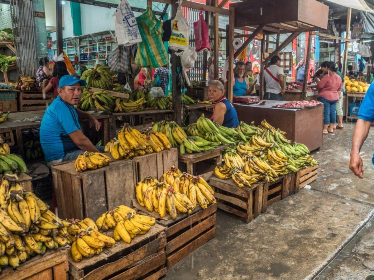 Peru Iquitos market