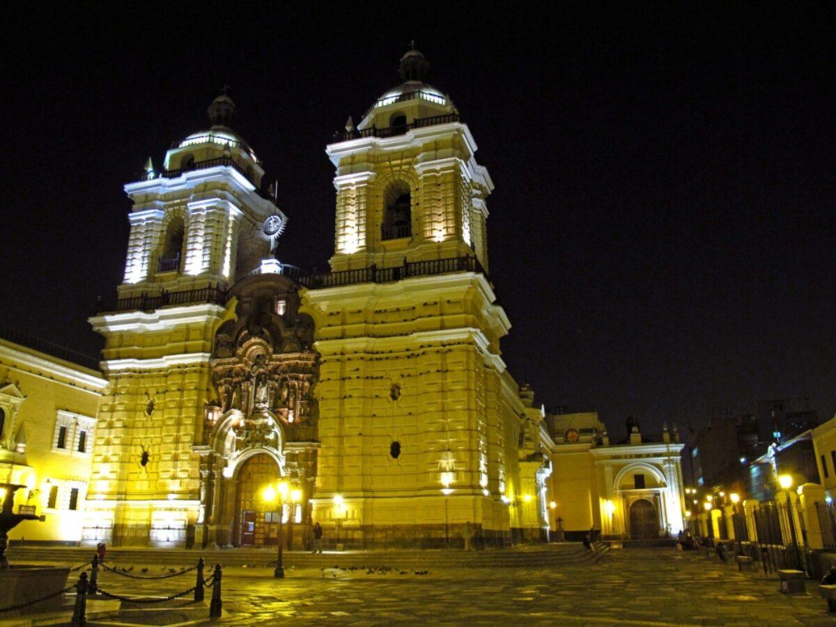 Peru Lima church