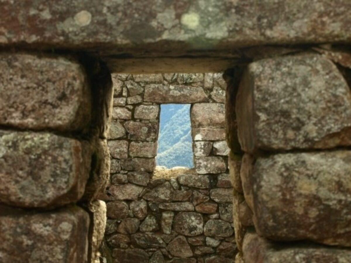 Peru Machu Picchu window