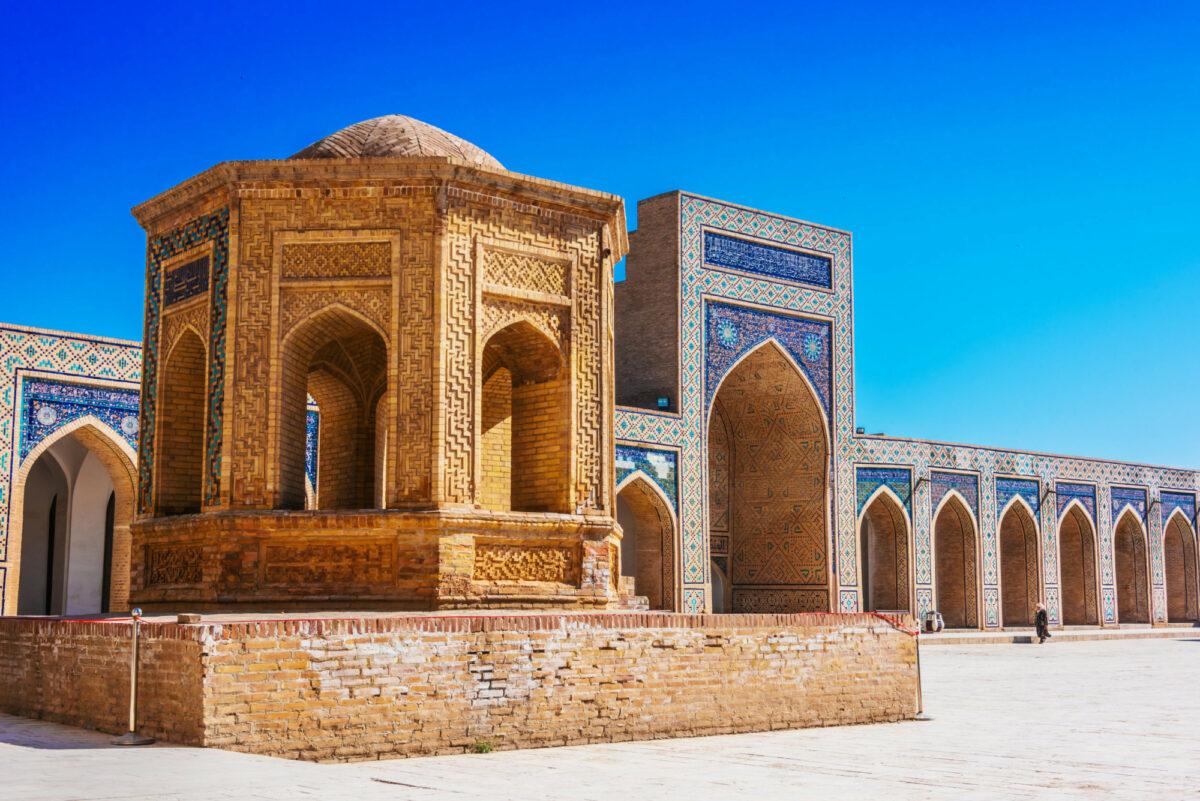 Po i Kalan or Poi Kalan Bukhara Uzbekistan