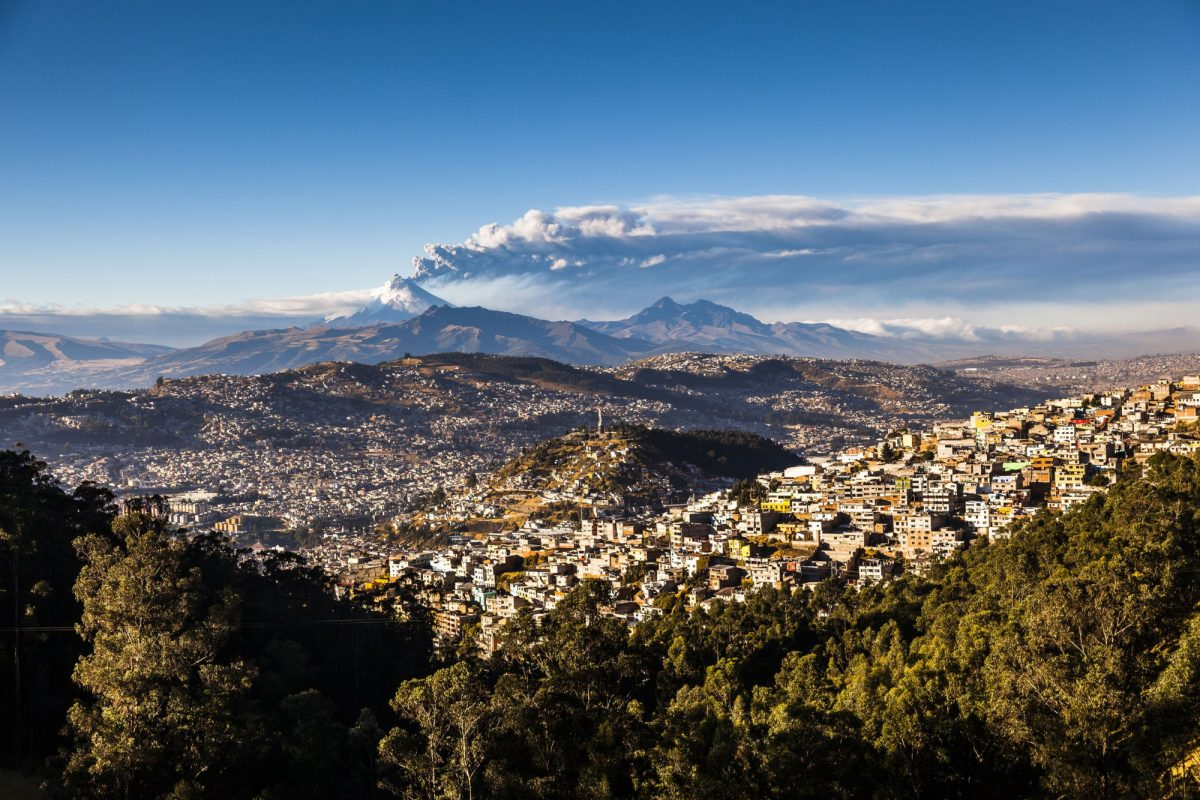 Quito Cotopaxi Volcano eruption for several days