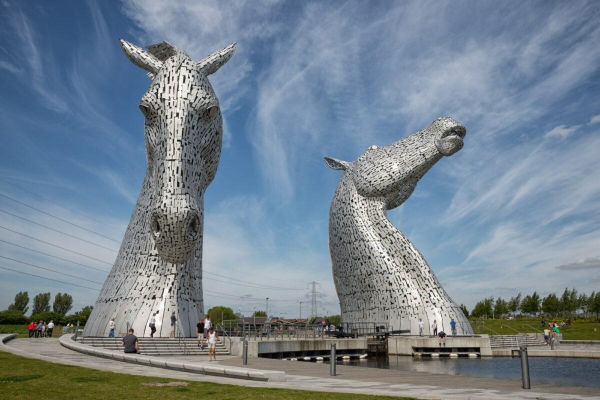 Scotland Falkirk kelpies ED ONLY