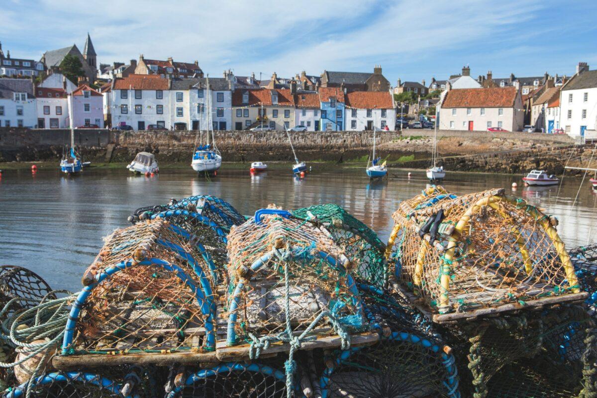 Scotland Fife East Neuk of F Ife fishing village of Pittenweem
