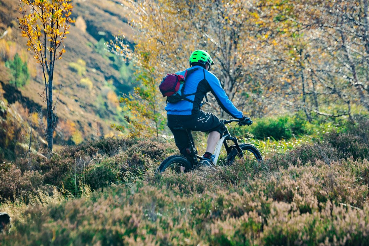 Scotland Highlands mountain biking