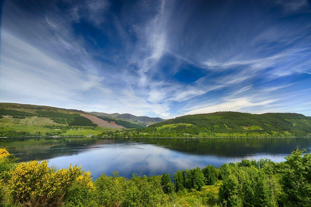 Scotland Rob Roy Way Loch Tay