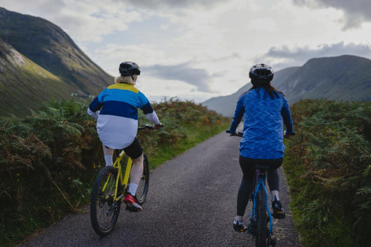 Scottish Highlands cycling