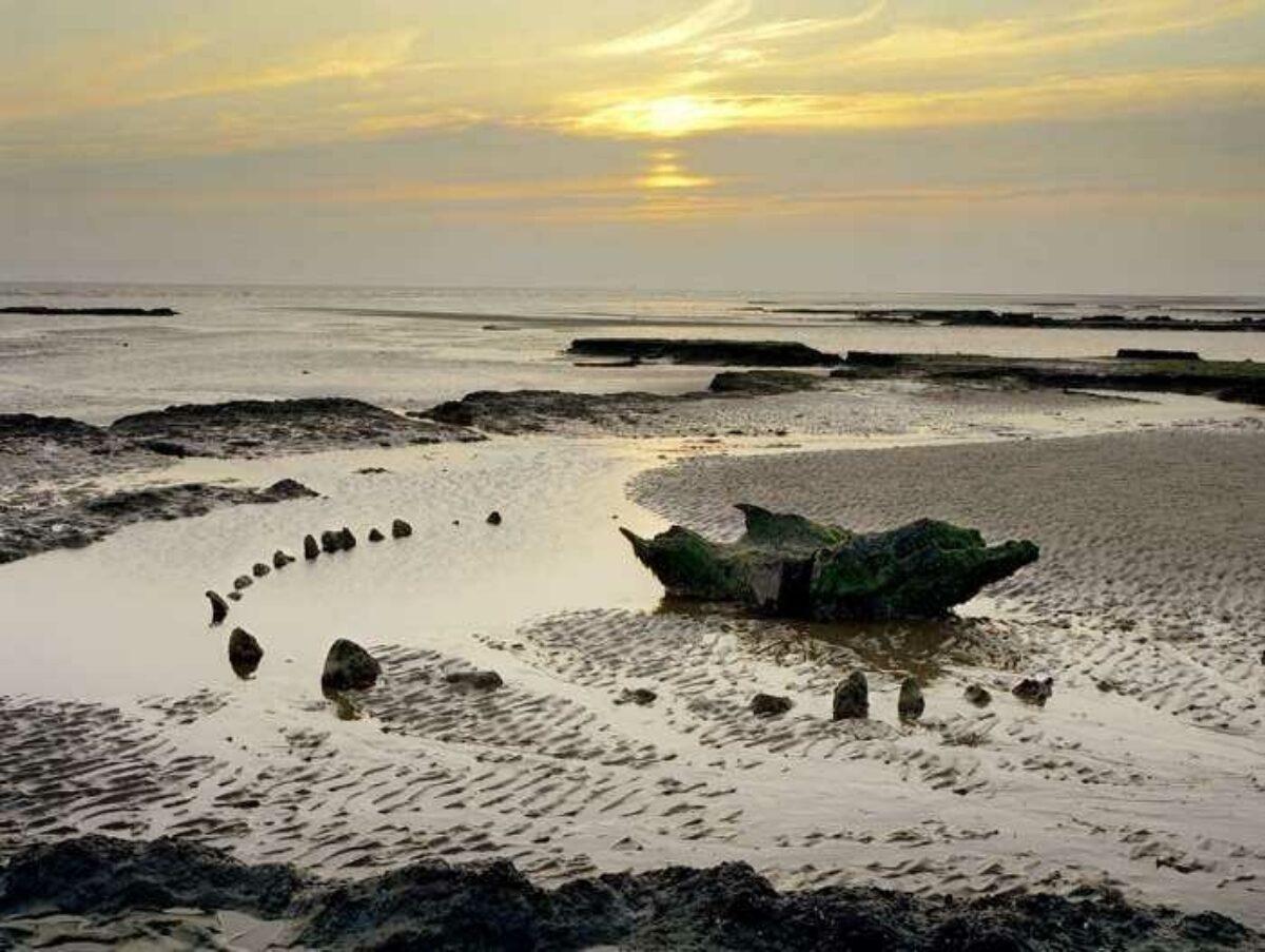 Seahenge Holme Next The Sea Norfolk UK
