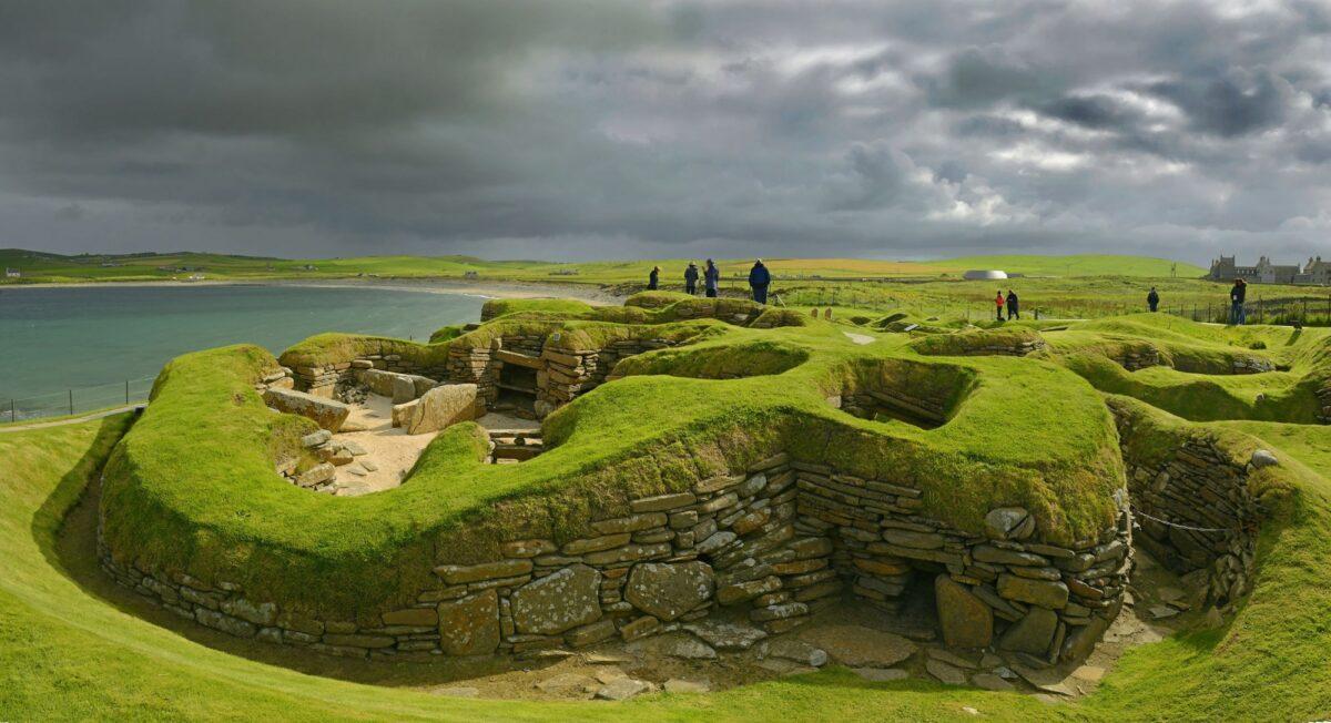 Skara Brae heart of neolithic orkney scotland uk