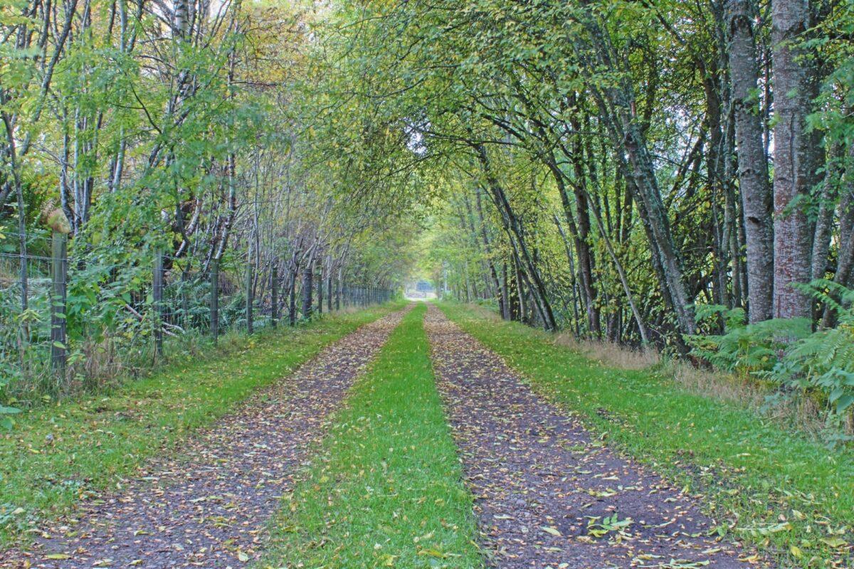 Speyside way Scotland UK