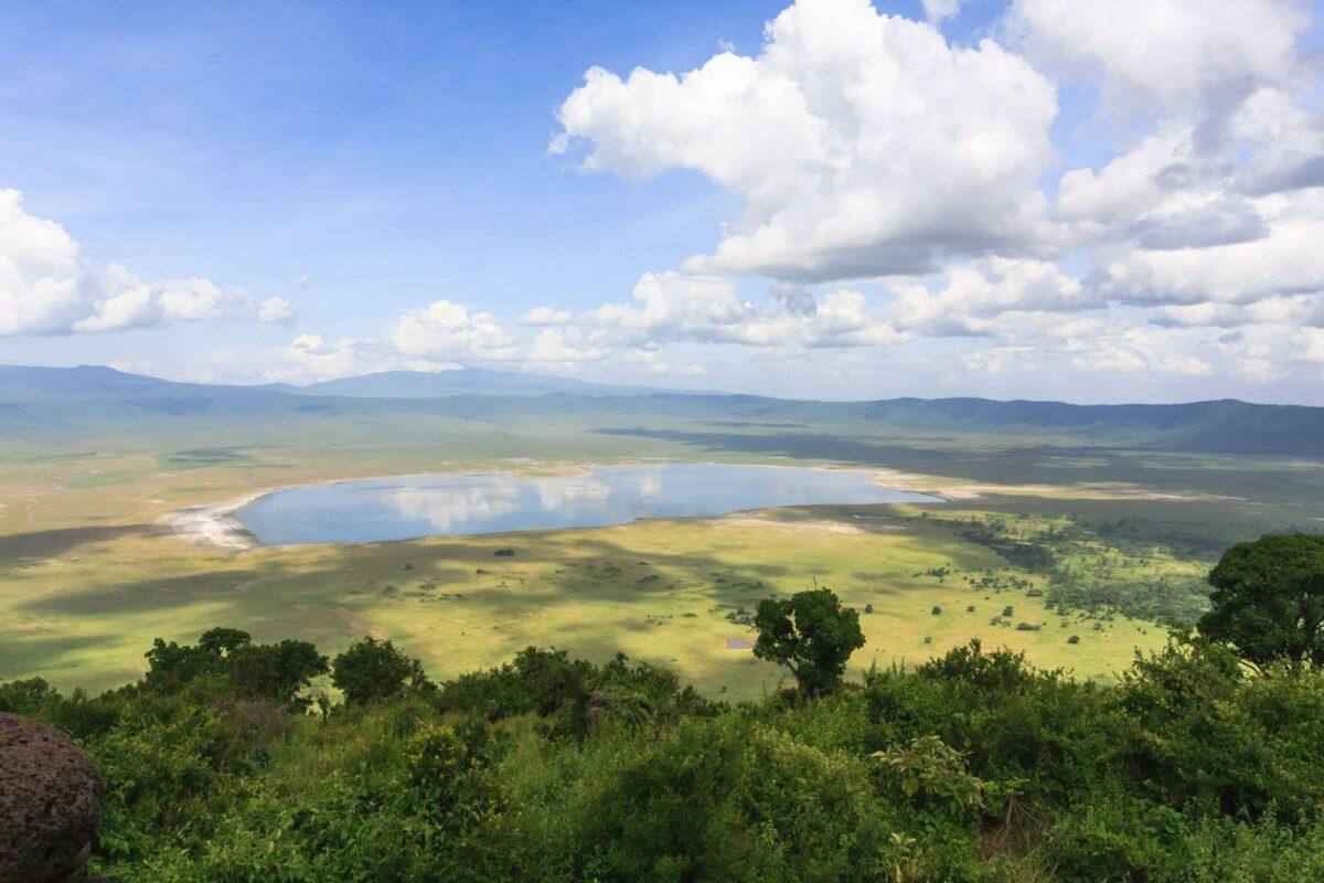 Tanzania Ngorongoro crater view