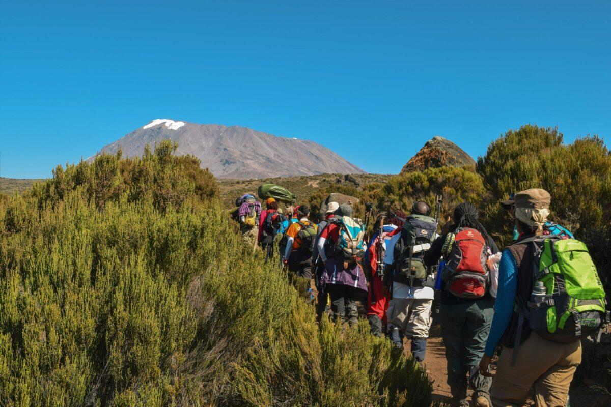 Tanzania Mount Kilimanjaro hiking