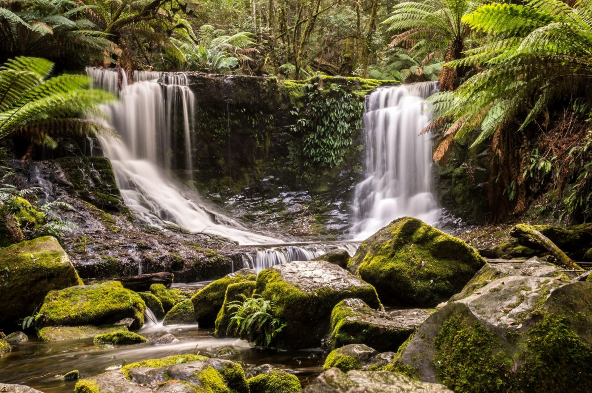 Tasmania Russell Falls