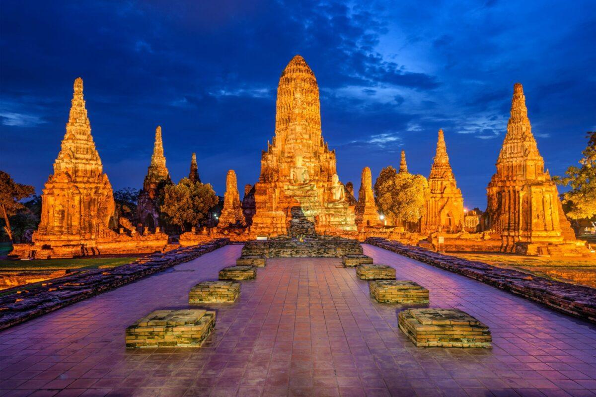 Thailand Ayutthaya Wat Chaiwatthanaram