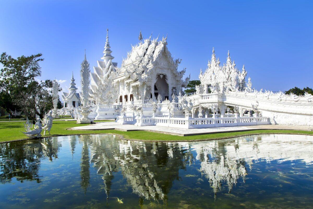 Thailand Chiang Rai Wat Rong Khun White Temple