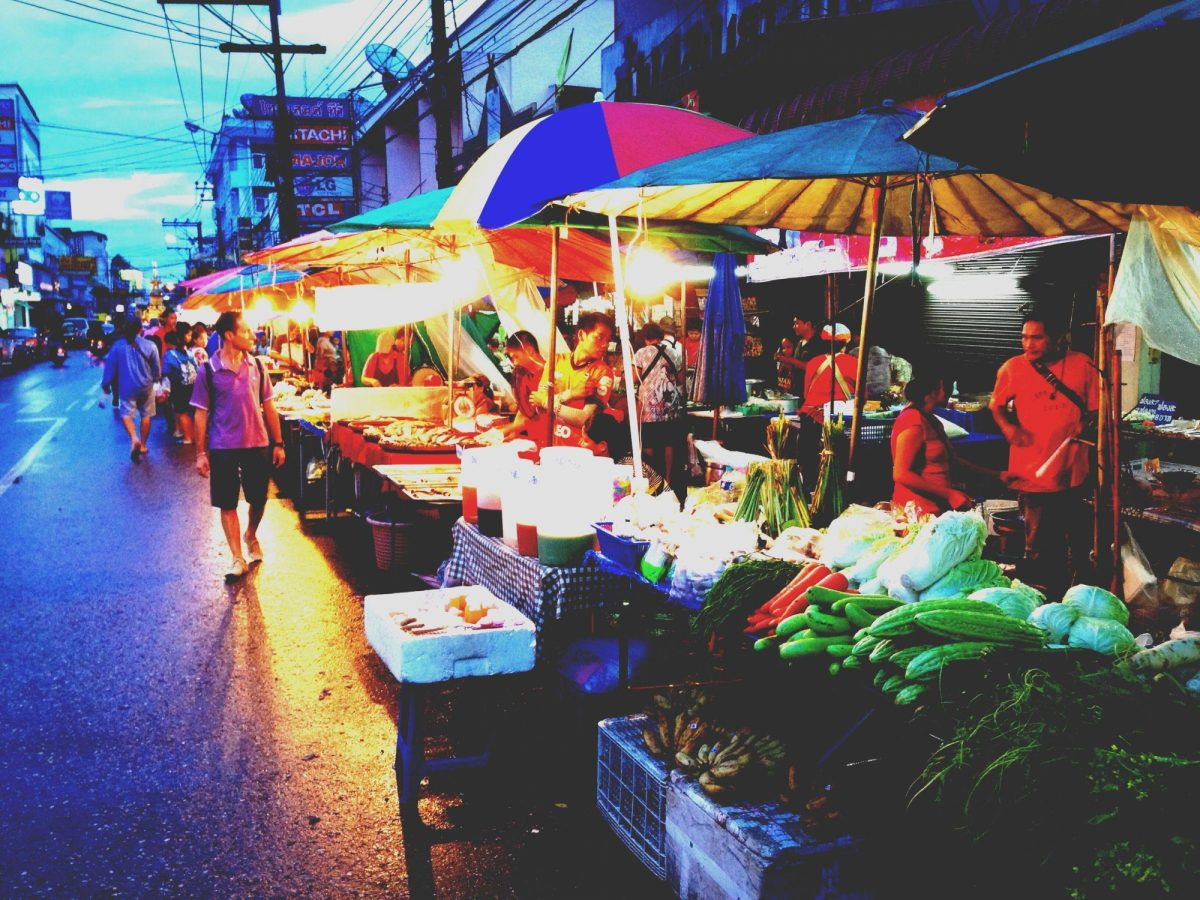Thailand Chiang Rai market