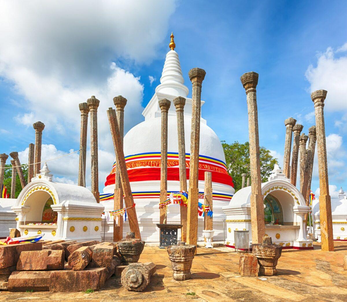 Thuparayama Anuradhapura Sri Lanka