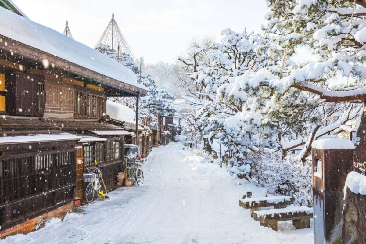 Tokyo Takayama snowy3
