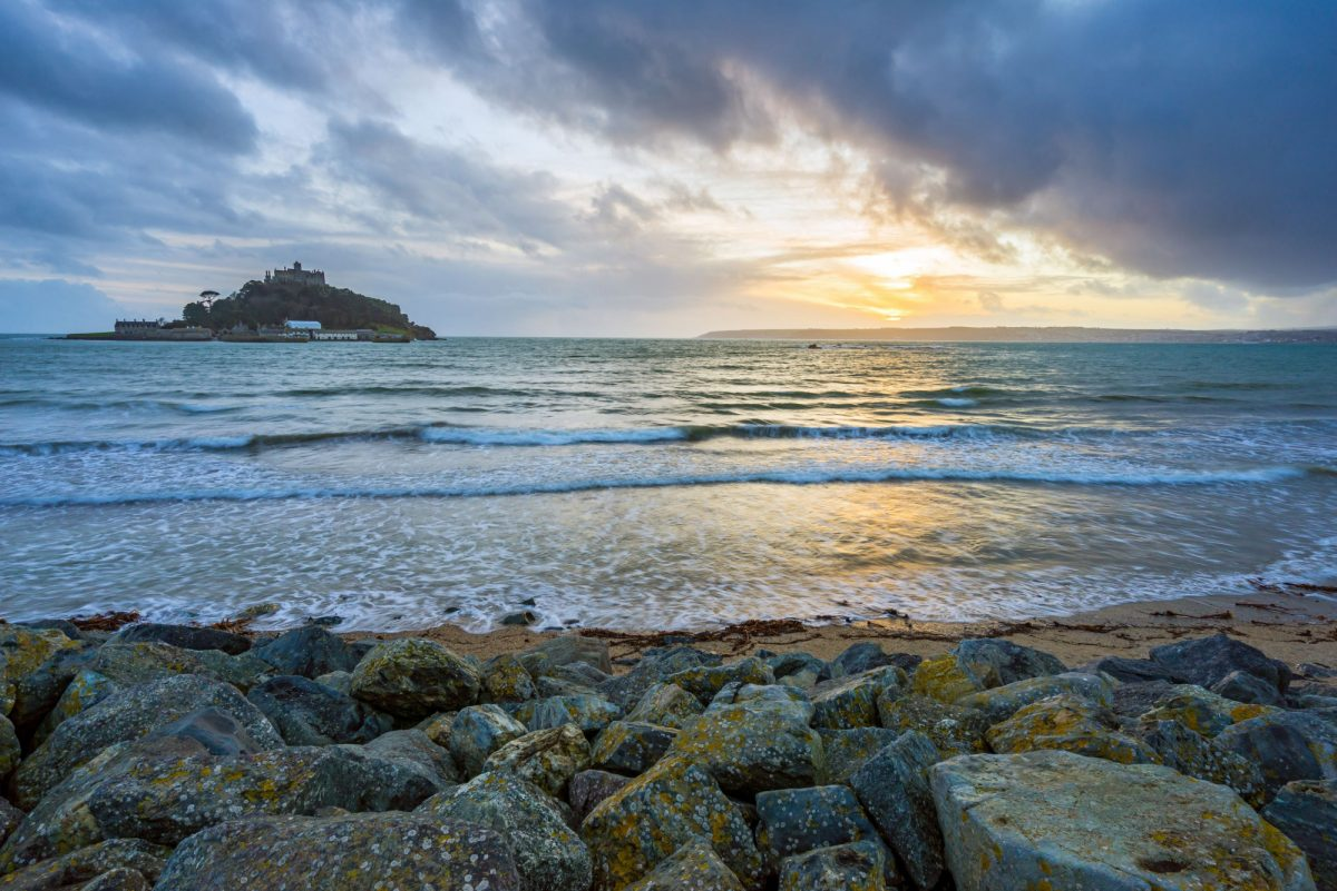 UK Cornwall St Michaels Mount i