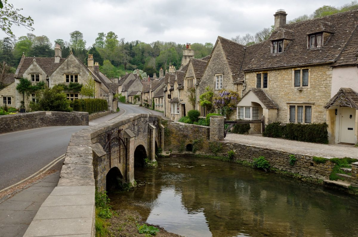UK Cotswolds Castle Combe England