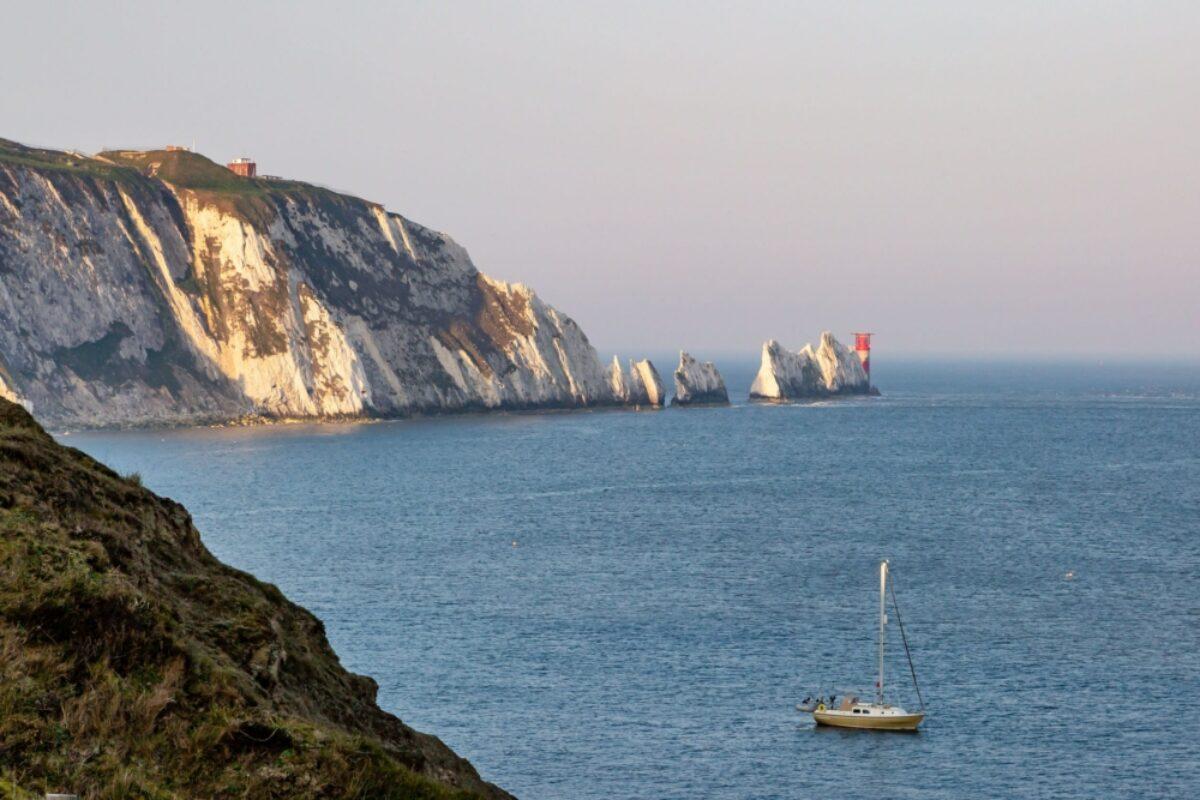 UK Isle of wight alum bay needles