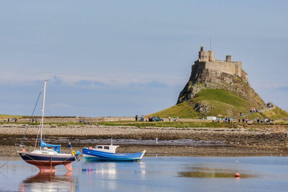 UK Northumberland Lindisfarne Holy Island
