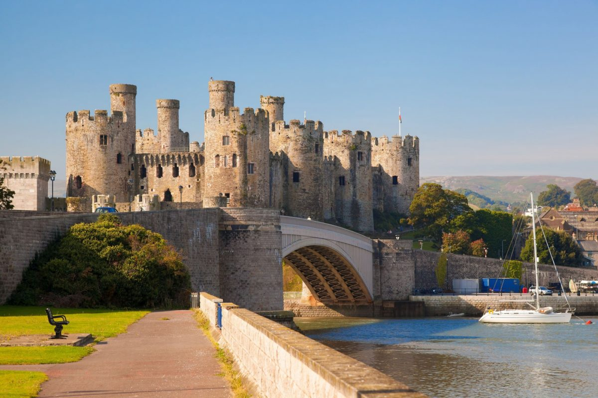 UK Wales Coway Castle