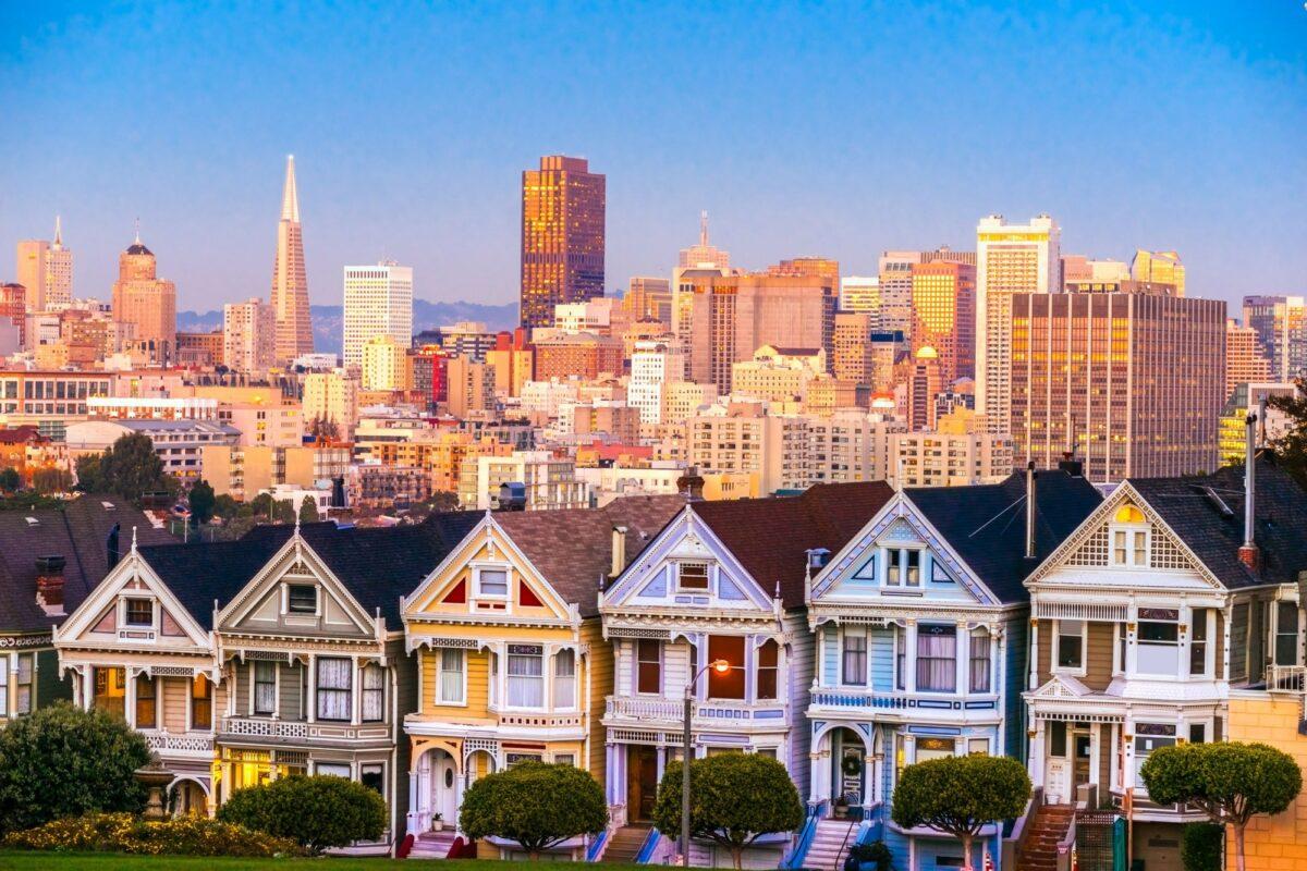 USA San Fran Paintedladies