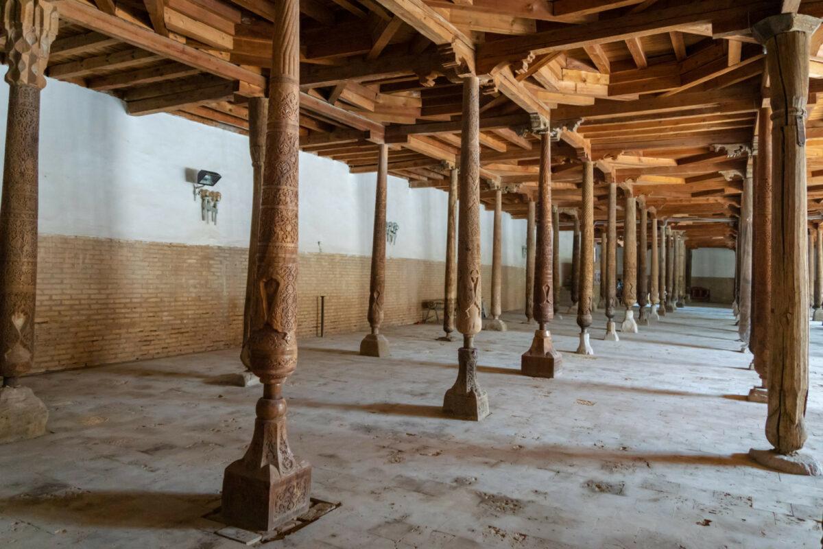 Uzbekistan Khiva Juma Mosque