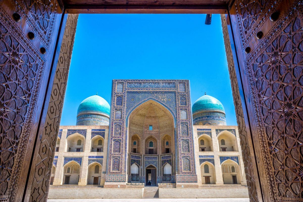 Uzbekistan Bukhara Mir i Arab madrasah