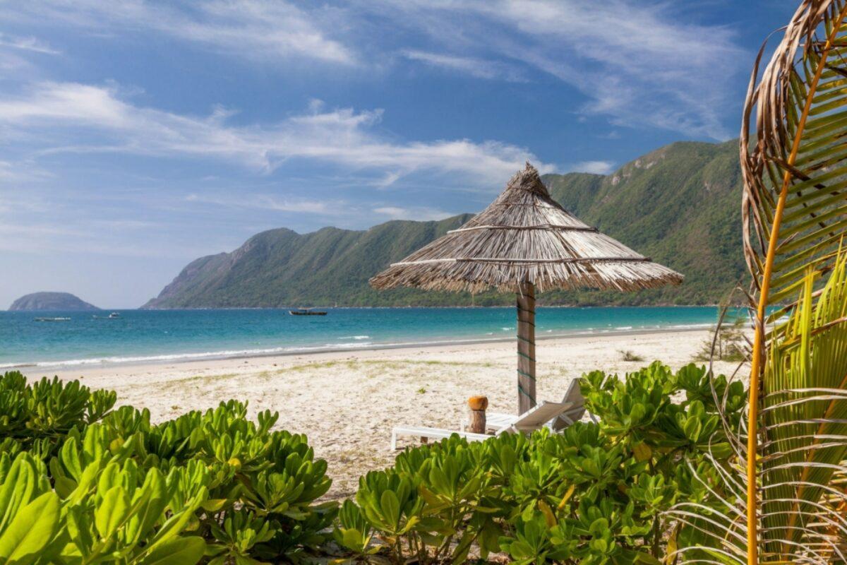 Vietnam Con Dao Island beach
