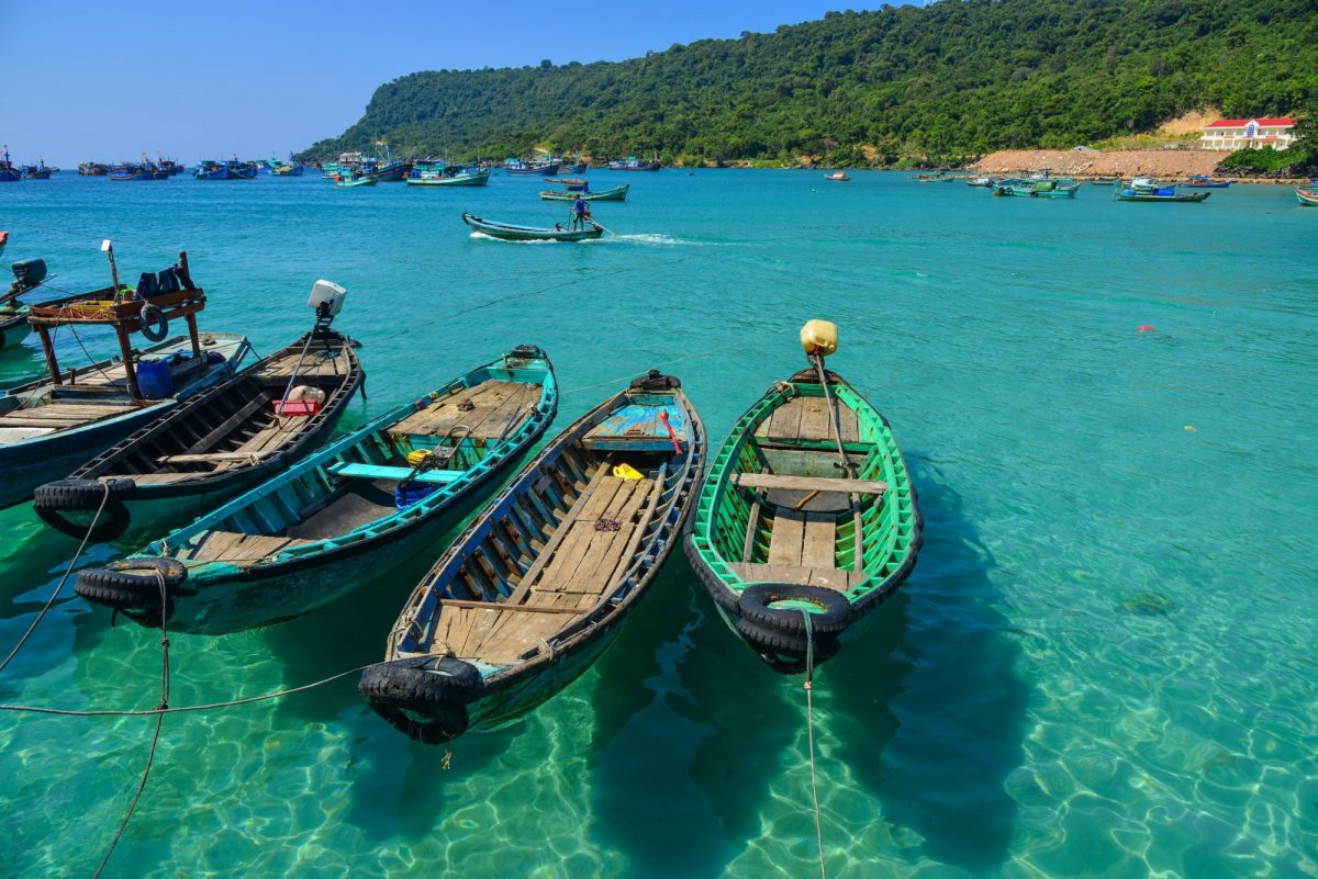 Vietnam Phu Quoc Phu Quoc Pier in Kien Giang