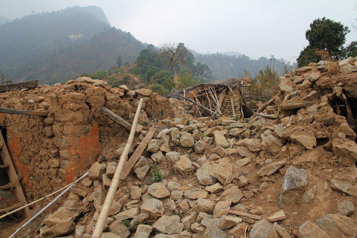 Village In Sindhupalchok After Earthquake 2015 2